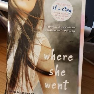 Where she went book